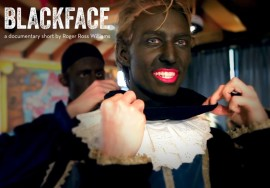 Blackface screening flyer – ex info