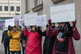 Berlin anti piet protest 30-11