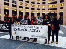 No more blackface EU parlement