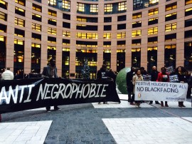 No more blackface EU parlement2