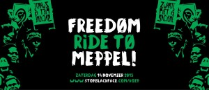 Freedom Ride to Meppel - Banner