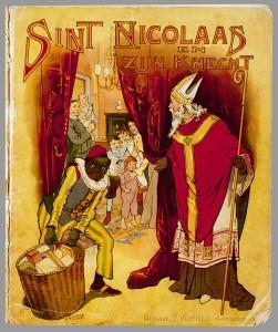 Sint Nicolaas en Knecht schenkman