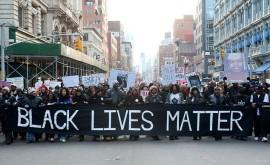 Black Lives Matter banner NUC StopBlackface