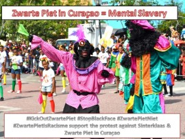 Zwarte Piet is mental slavery curacao
