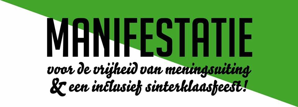 manifestatie Rotterdam tegen zwarte piet
